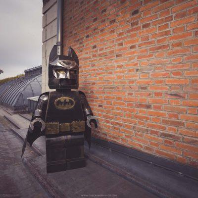 Lego Batman en métal